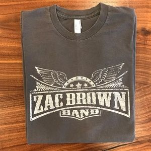 Men's Zac Brown Band Concert Tshirt